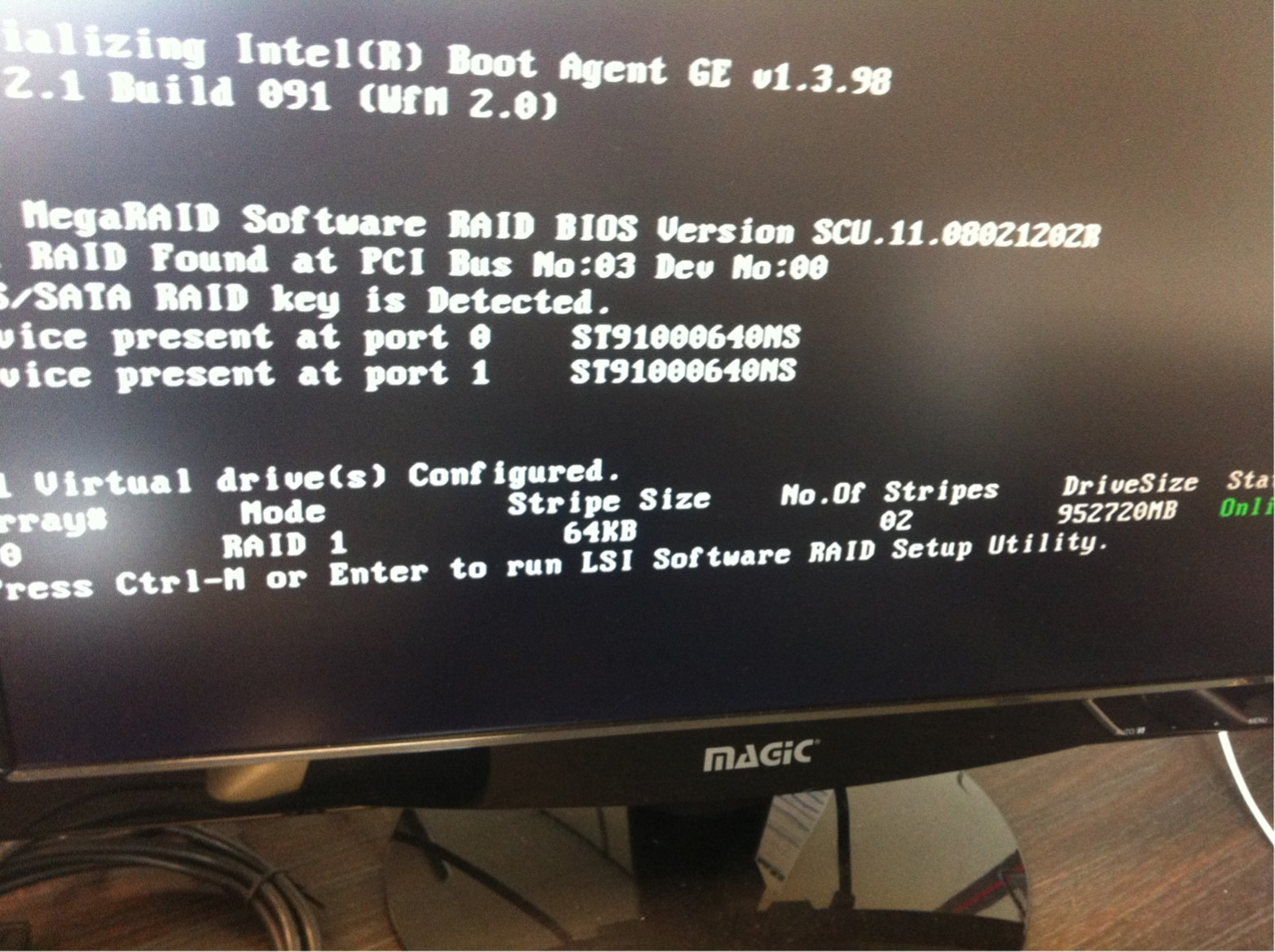 how to disable 2nd hard drive in bios