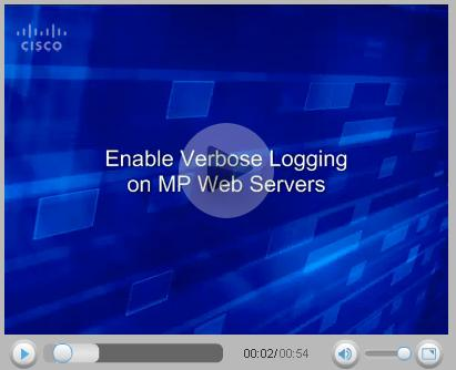 Enable Verbose Logging on MP Web servers.JPG