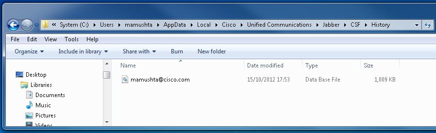 Solved: How to retrieve the chat history from C    - Cisco Community