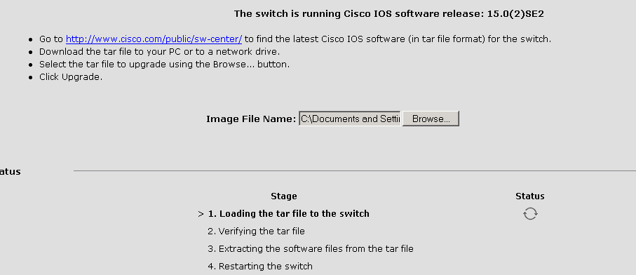 Cant update Cisco Catalyst 2960 IOS - Cisco Community