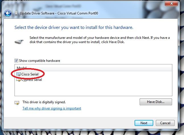 CISCO USB Console Driver | Download Drivers
