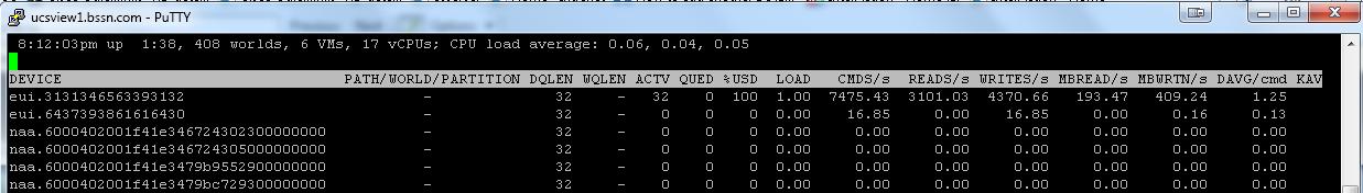 UCS HBA Queue Depth Vmware ESXi 5 1 - Cisco Community