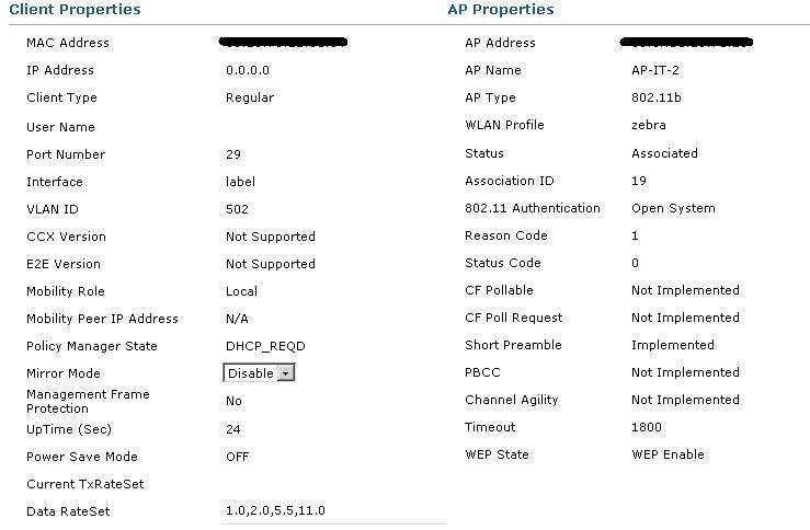 Mobile Printer ( Zebra RW420 ) Not Work    - Cisco Community