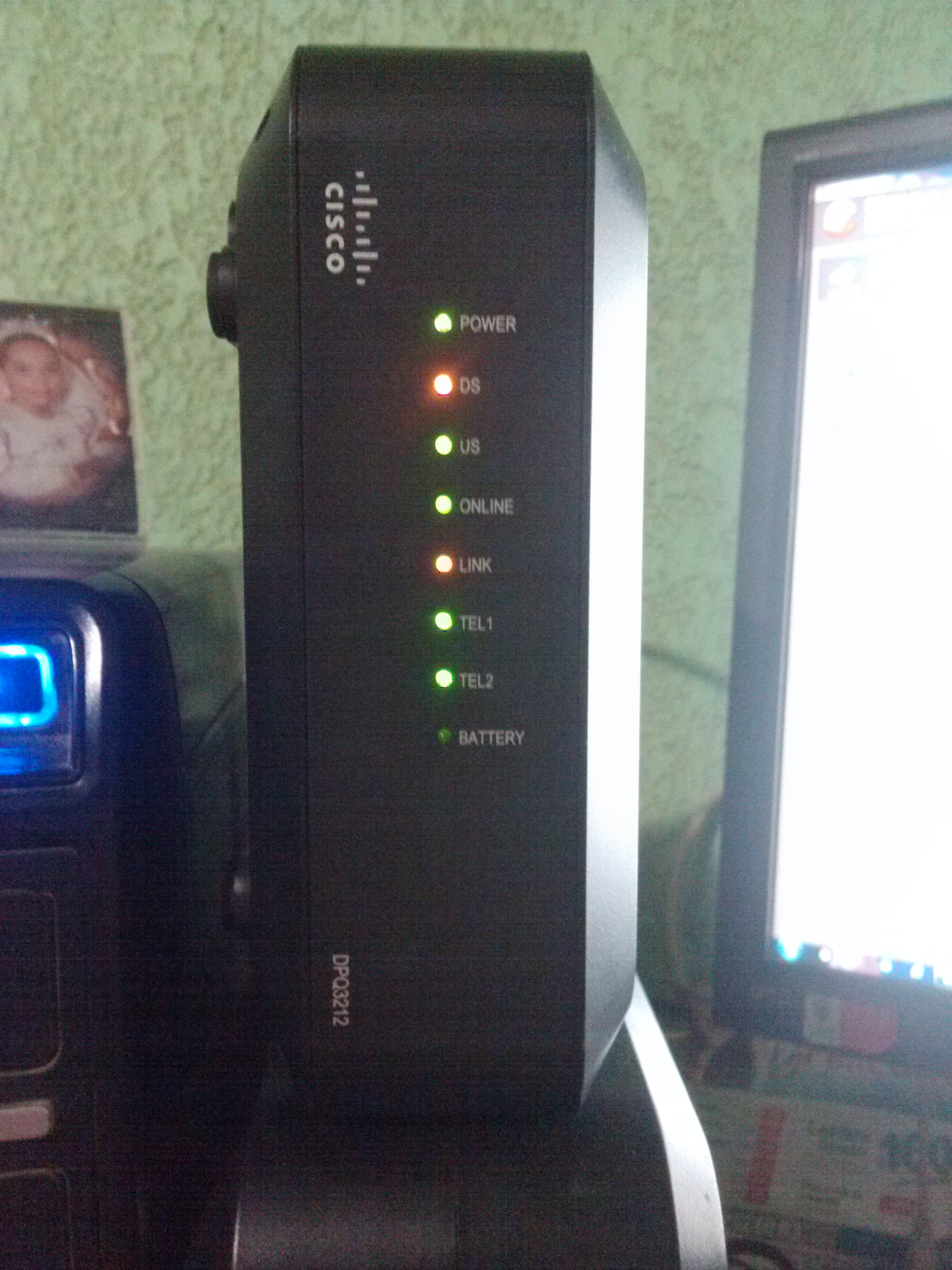 Leds Amber In My Dpq3212 Small Business Routers Cisco