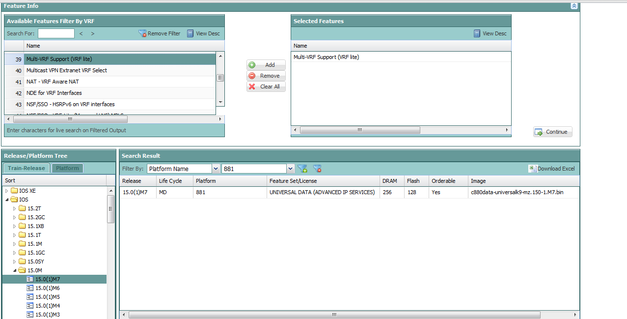 no ip vrf command on Cisco 881   LAN, Switching and Routing ...