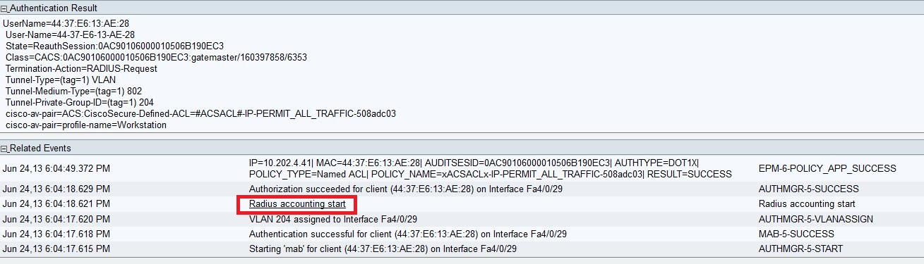 IP address in ISE live authentication a... - Cisco Community