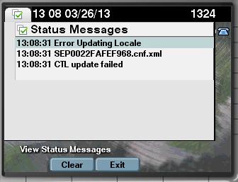 Ip communicator error updating locale