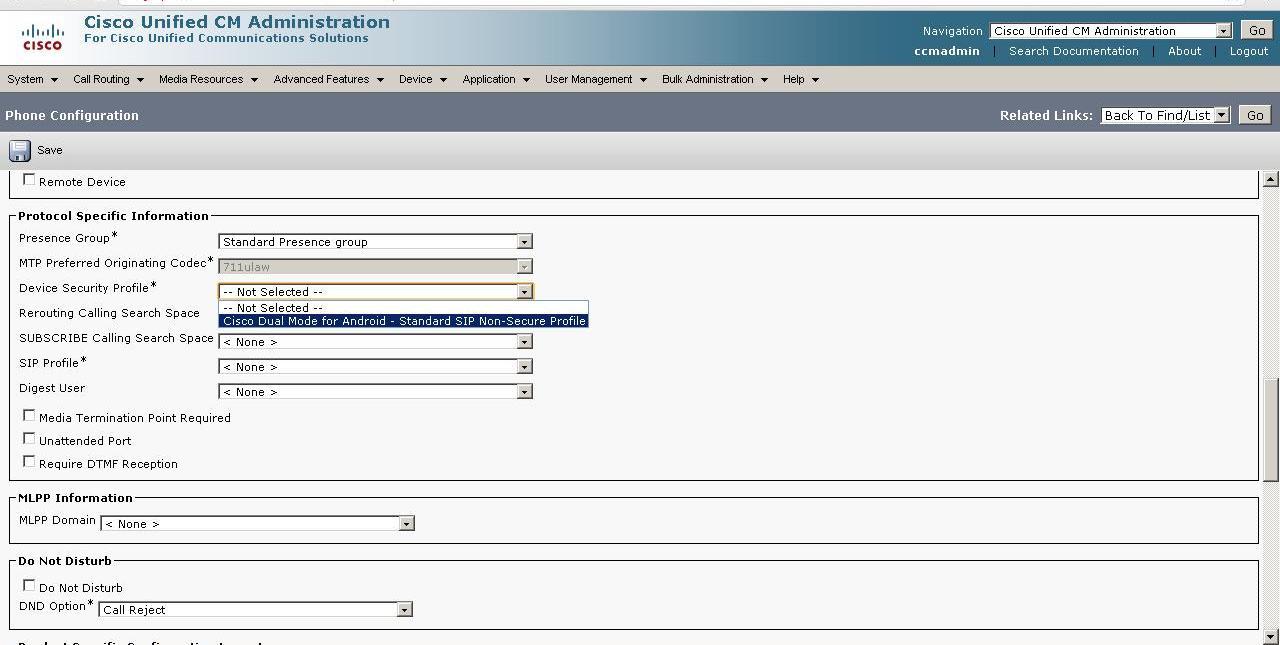 Configuring Cisco Jabber on CUCM - Cisco Community