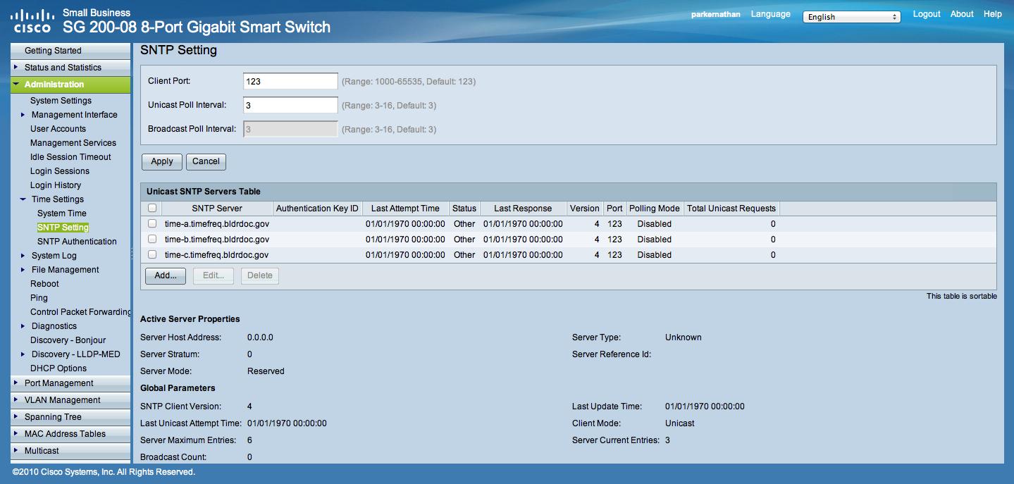 Solved: Re: SG200-08 Newbie Questions - Cisco Community