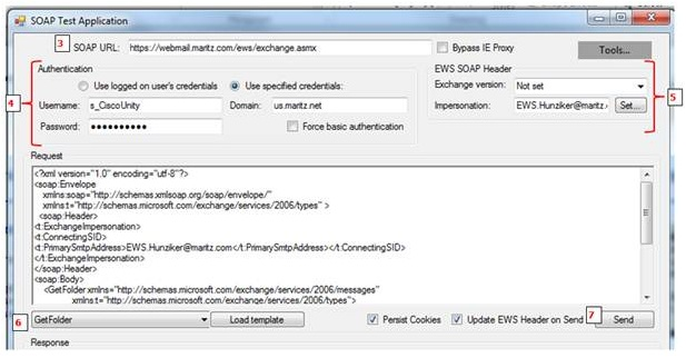 Using the SOAP tool to verify EWS permi    - Cisco Community