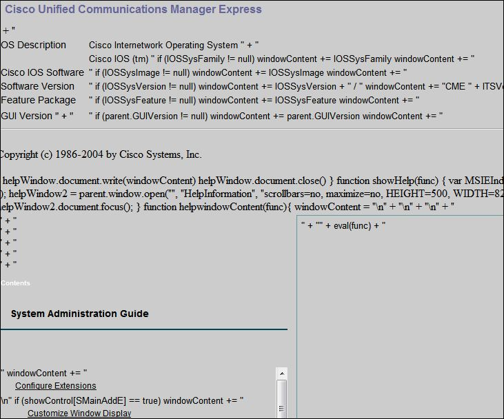 Solved: Some CME 7 questions - Cisco Community