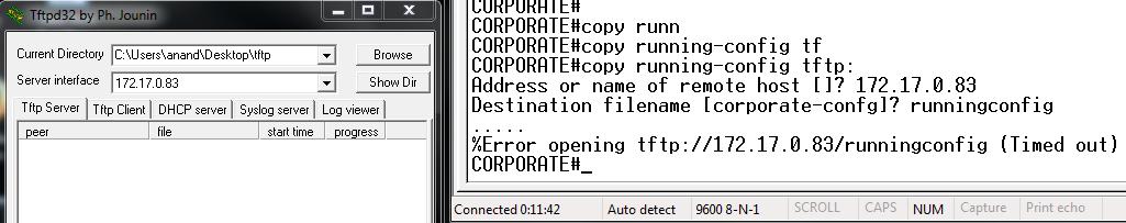 opening tftp