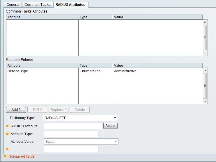 Solved: ACS and APC UPS - radius authentication - Cisco Community