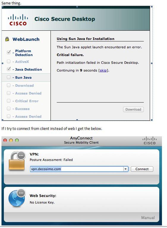 Anyconnect vpn mac - Cliente vpn para windows 98