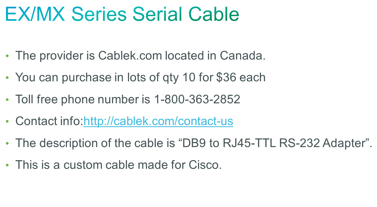 Ex90 Make Console Cable Using Ca42 Usb Cisco Community Rs232 Serial Pinout Information