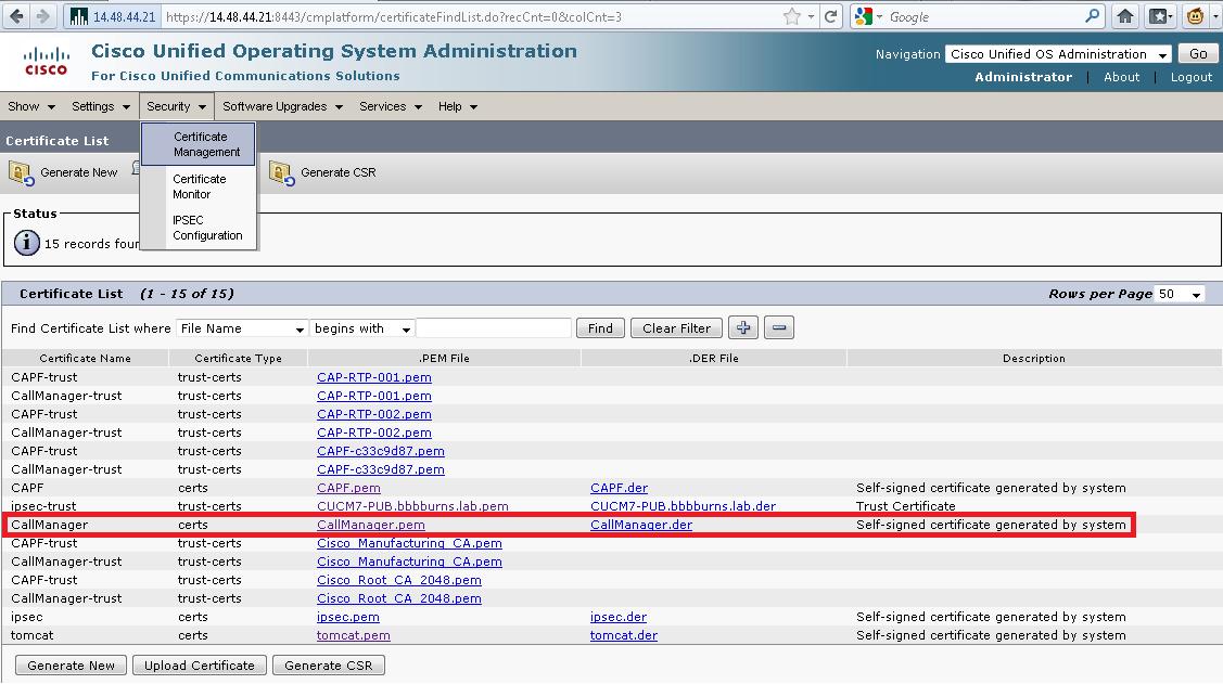 CUCM SIP Trunk TLS Configuration and Tr    - Cisco Community