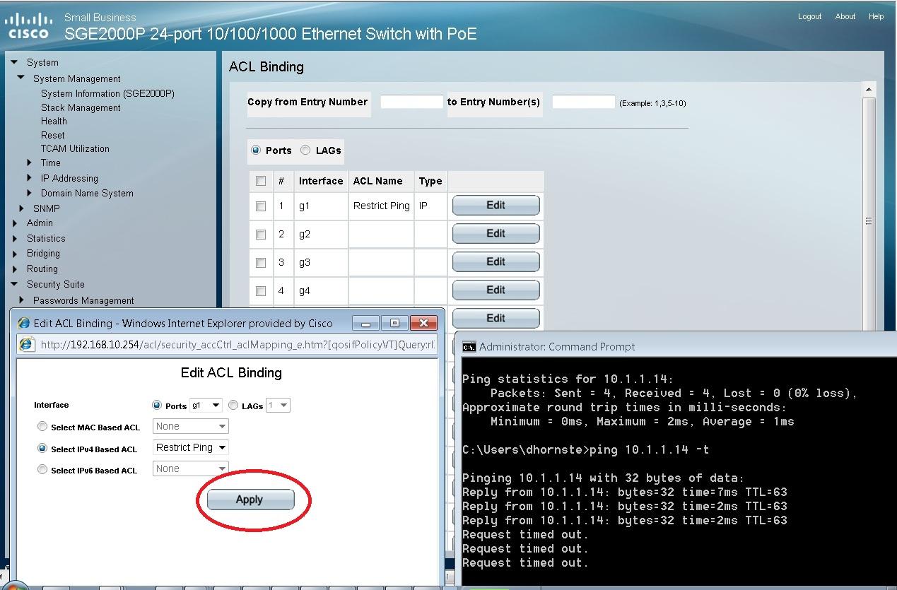 Ping GS752TP Cant VLAN IP - eehelp com