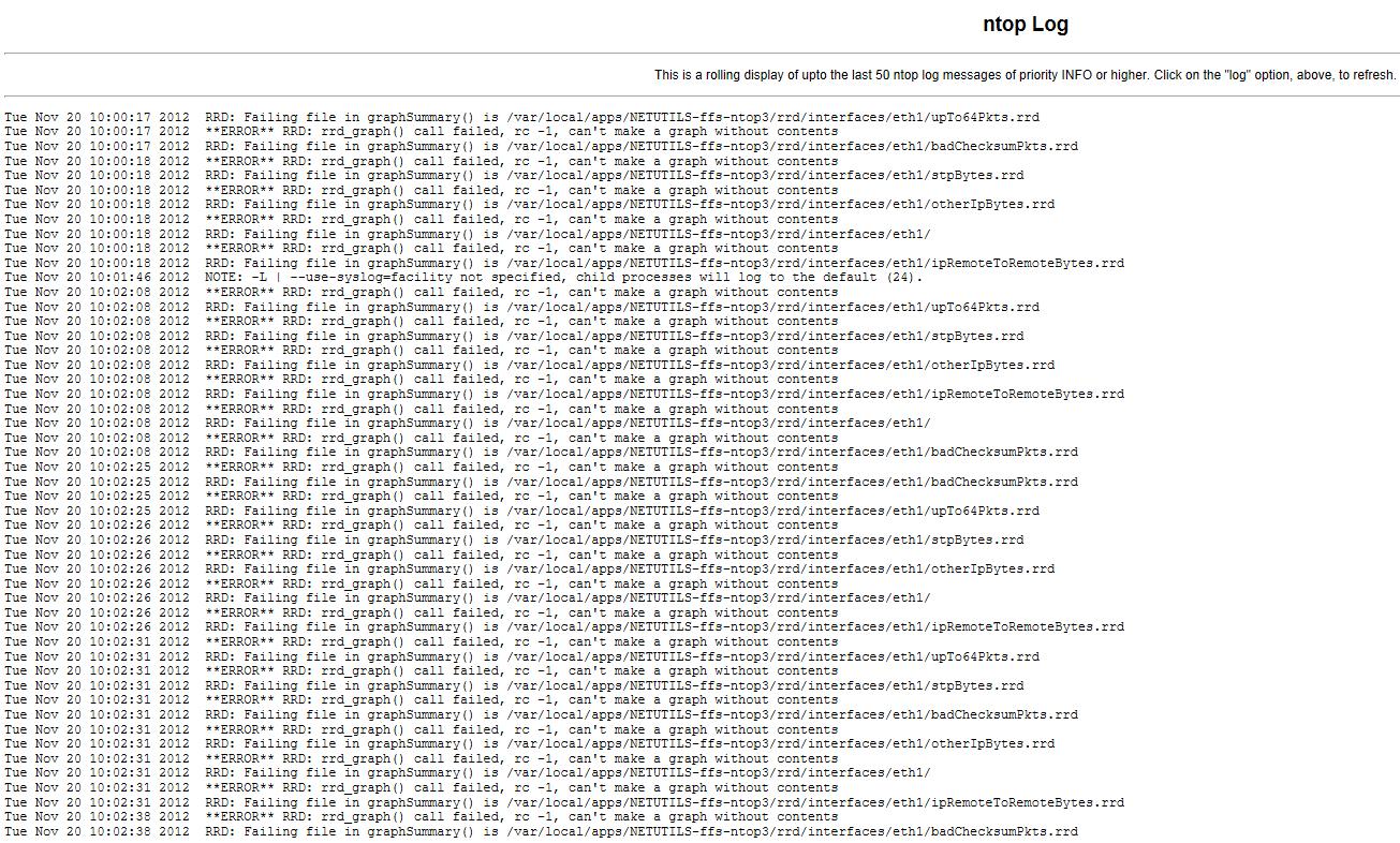 Solved: Ntop netflow configuration help - Cisco Community