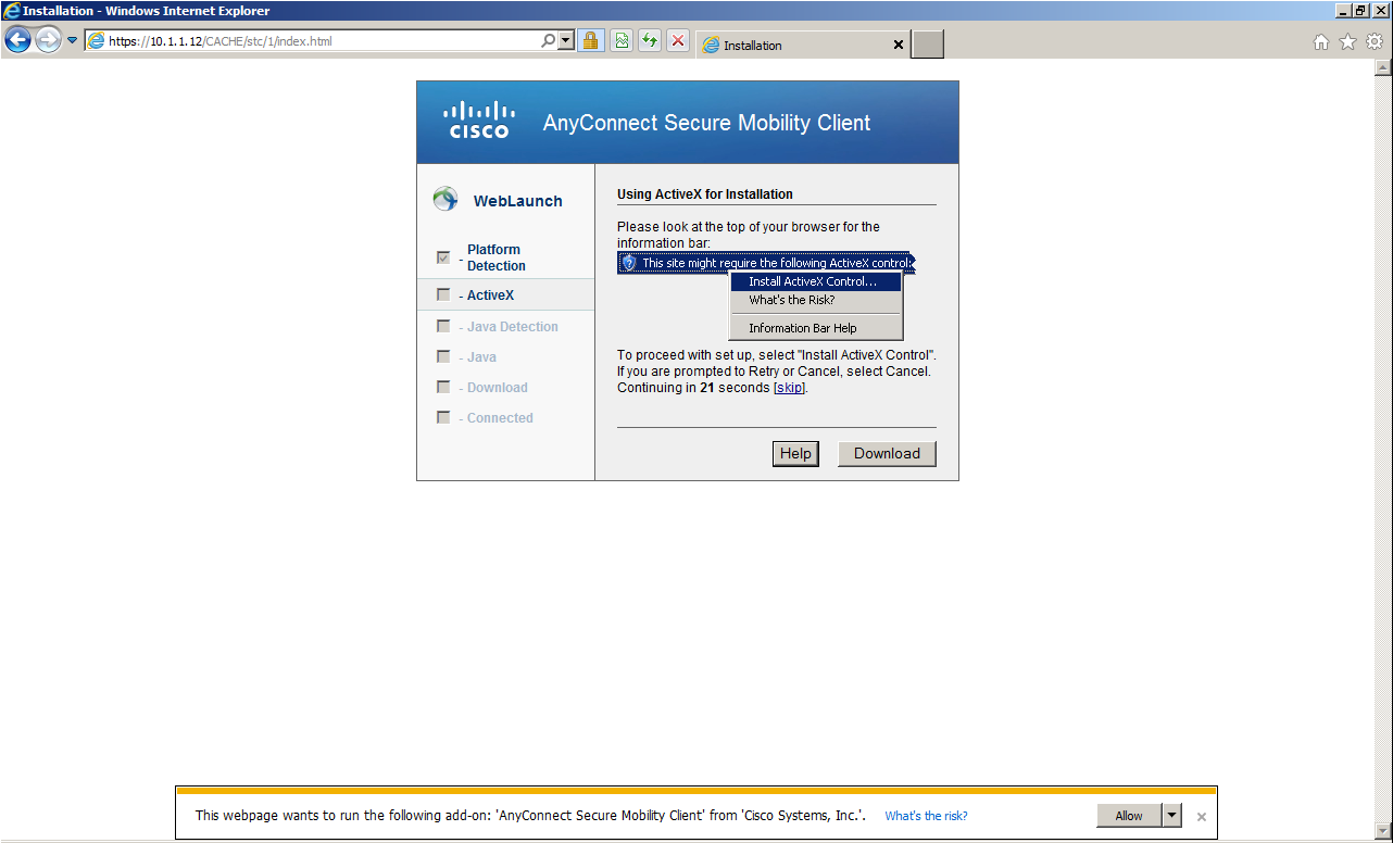 cisco anyconnect secure mobility client download for windows
