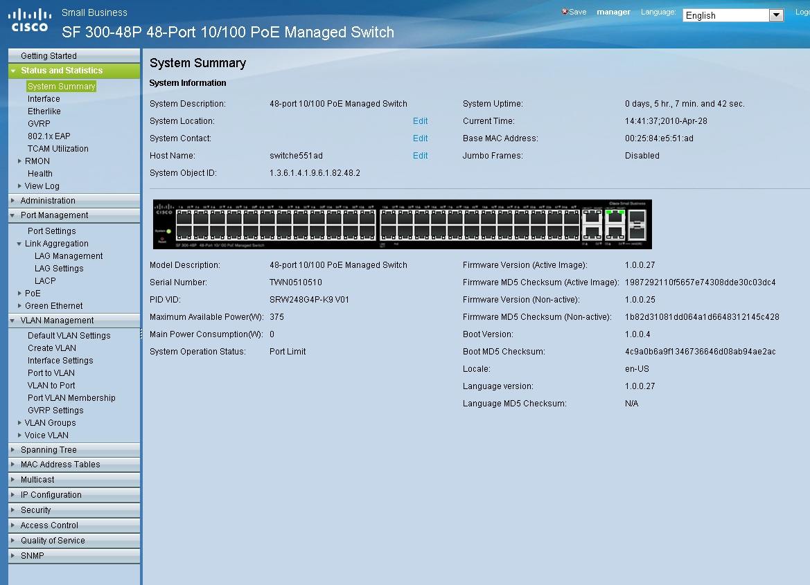Solved: SF300 LAG port doesn't work, LACP will     - Cisco Community