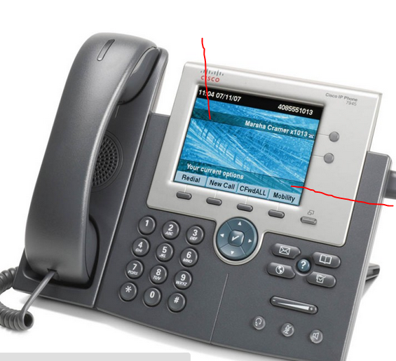 Cisco IP Phone display- permanent line - Cisco Community