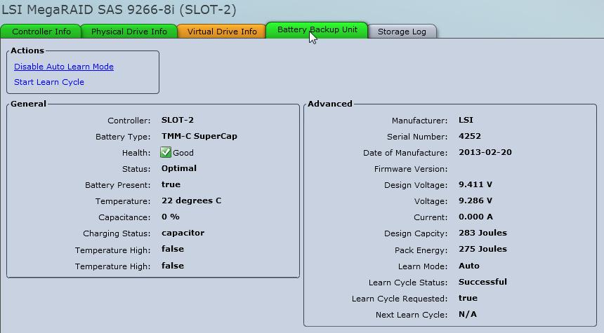 Solved: UCS C220 M3 with MegaRAID 9266-8i - cac    - Cisco Community