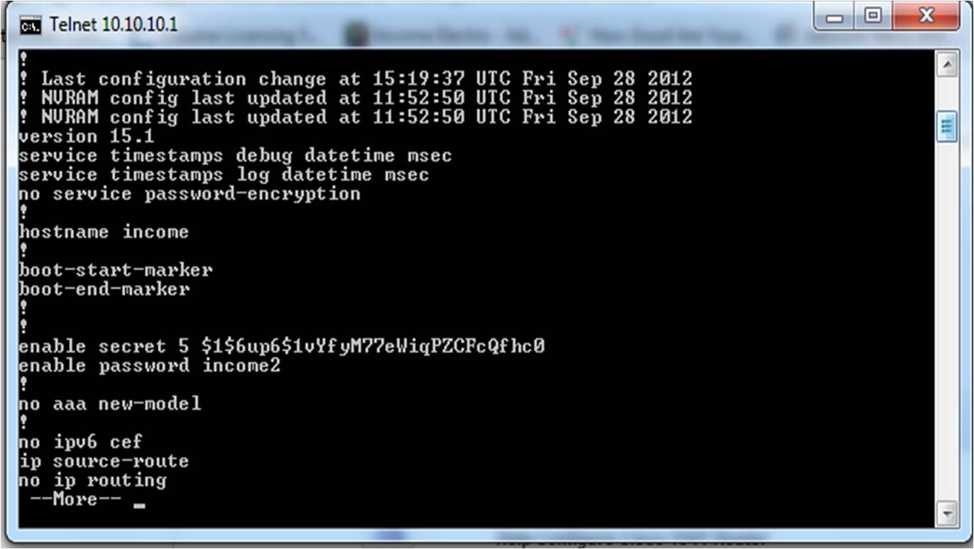 Solved: Help Configure Cisco 1941 Router - Cisco Community
