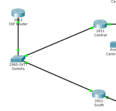 connect two routers lan to lan