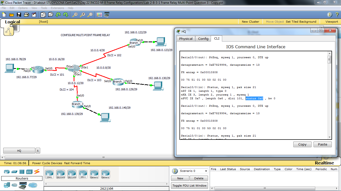 Frame-Relay Multipoint - Cisco Support Community