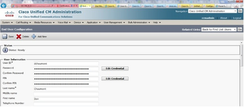 Solved: Cannot reset user vmail password with C    - Cisco Community