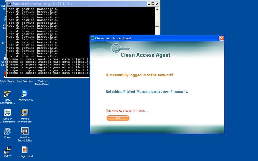 ISE CWA DHCP release/renew - eehelp com