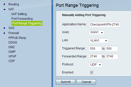 SRP527W and Checkpoint SecureClient - Cisco Community