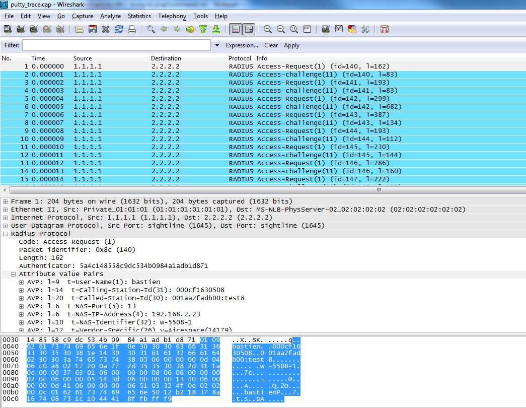 Generating pcap wireshark readables fil    - Cisco Community