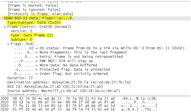 802.11 Sniffer Capture Analysis - Manag... - Cisco Community