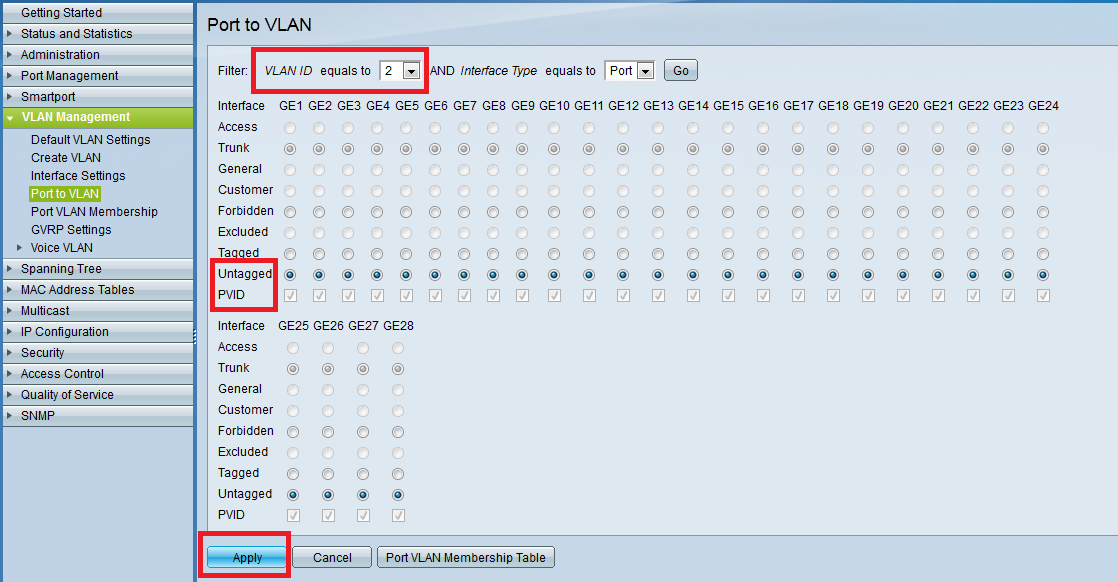 how to create a vlan on a netcomm router