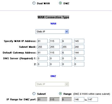 DMZ on the RV042? - Cisco Community