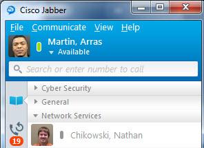 Jabber Chat History? | Cisco Communities