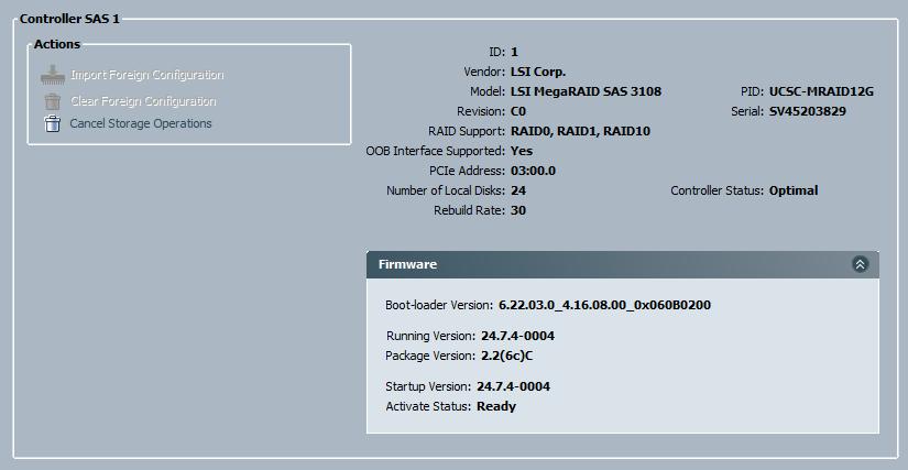 Solved: Cisco C240-M4SX / 12G SAS Embedded Raid    - Cisco Community