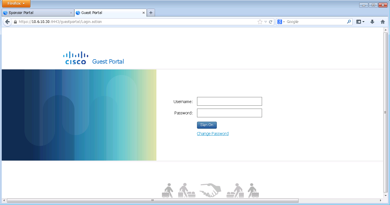 ISE 1.2 Guest Portal