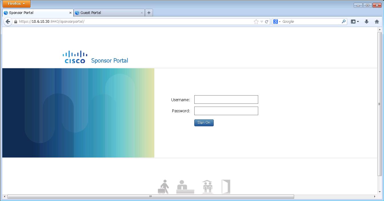 ISE 1.2 Sponsor Portal
