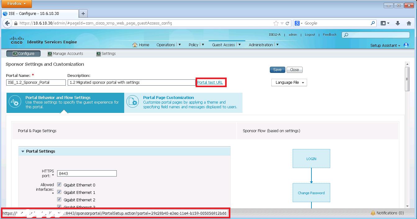ISE 1.3 Sponsor Portal Example