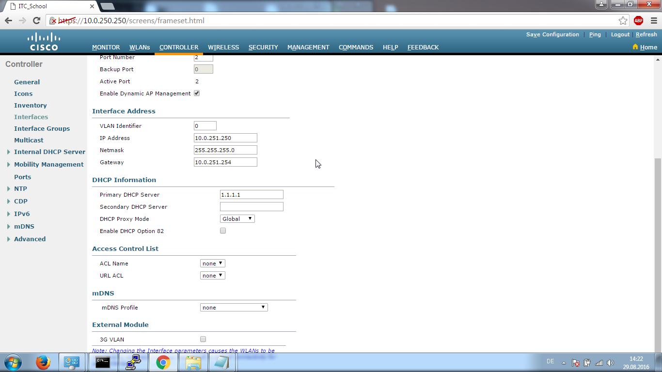 Dhcp option 43 cisco wlc