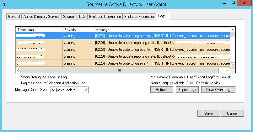 Solved: DCOM error 10028 - Sourcefire User Agen    - Cisco Community