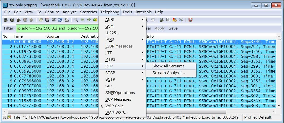 UC Troubleshooting with Wireshark (Audi    - Cisco Community