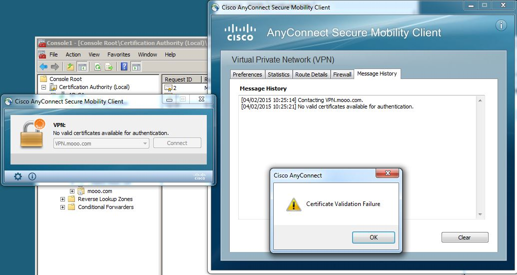 Cisco Anyconnect Ssl Certificate Gallery Creative Certificate