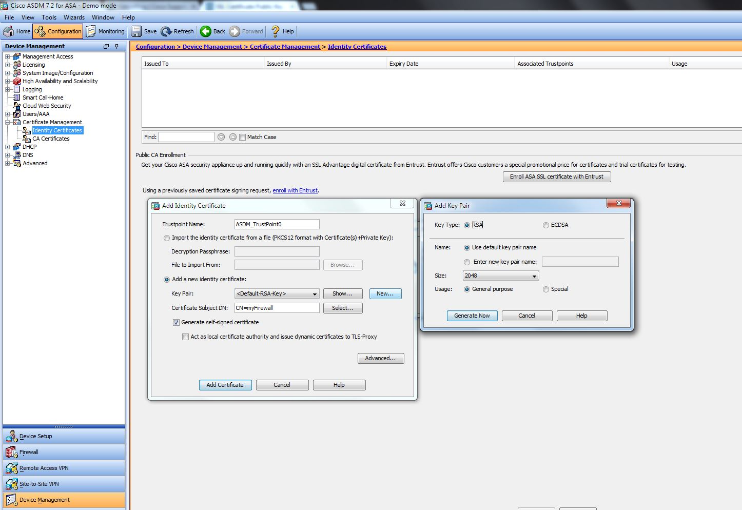 Solved Ssl Certificate Public Key To Small Cisco Community