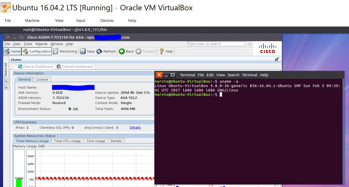 ASDM on Linux 2