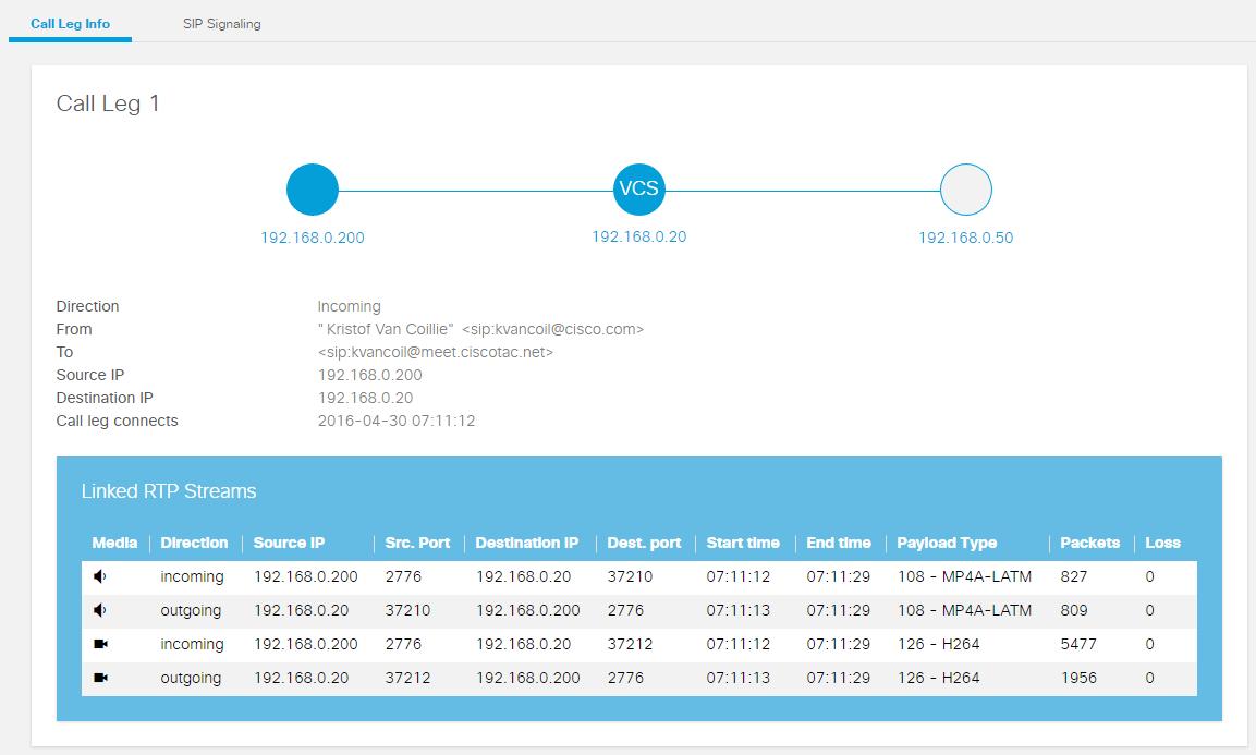 Expressway SIP Call Analyzer - Cisco Community