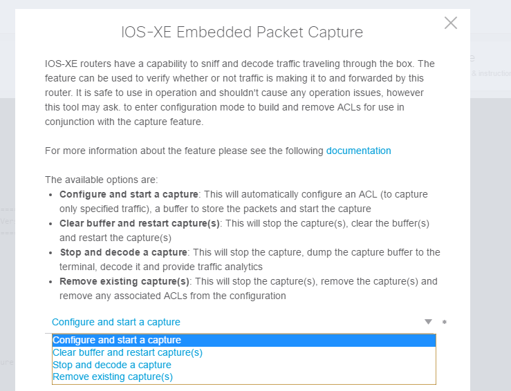 Using the Packet Capture Tool on the CL    - Cisco Community