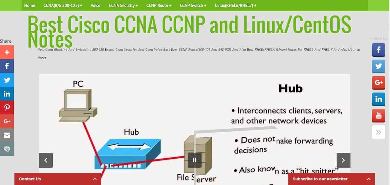 Best Cisco CCNA CCNP and Linux Notes